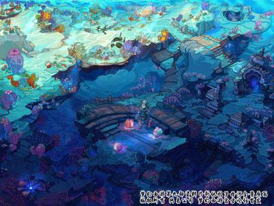 壁纸 海底 海底世界 海洋馆 水族馆 桌面 400_300